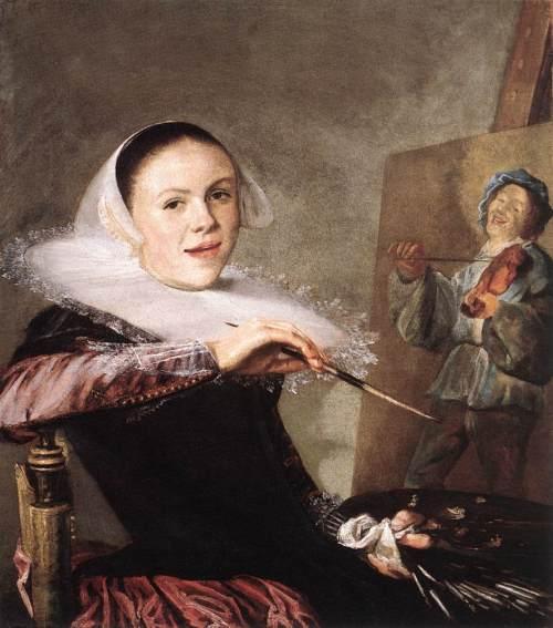 Auto-retrato, c. 1635